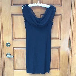 Fabulous vintage little black dress.